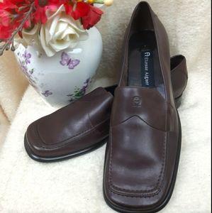 NWOT Etienne Aigner leather elegant shoes classic